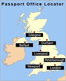 British Passport Offices