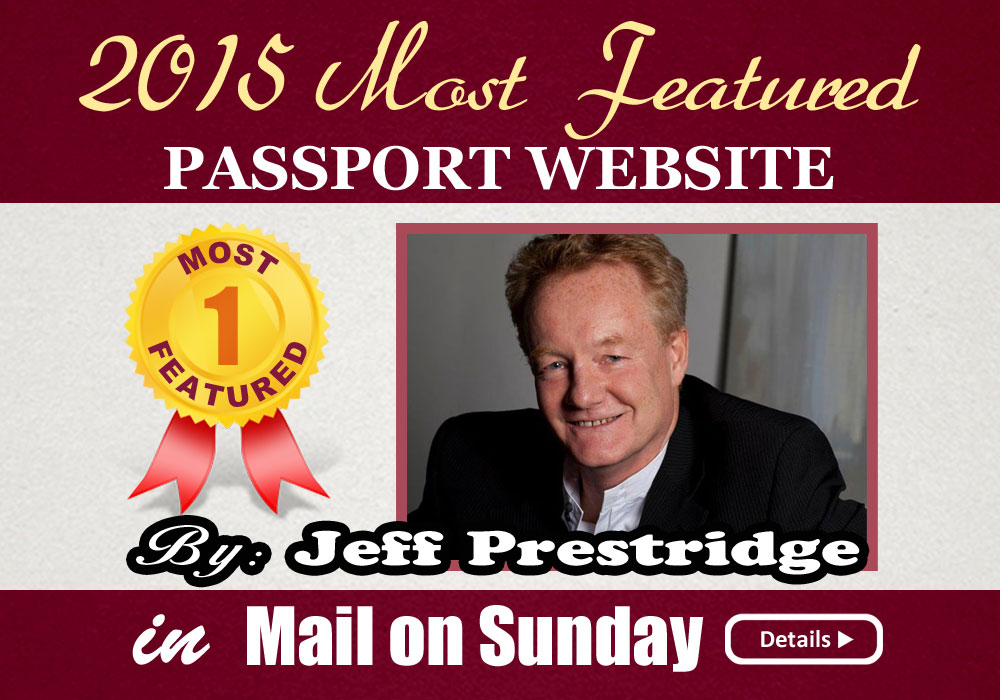 2015 Most Featured Passport Website By Jeff Prestridge